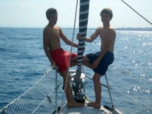 Philipp und Jan