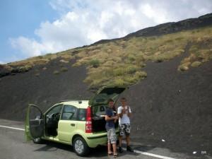 Unterwegs zum Etna