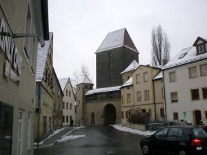 Altstadt in Amberg (Ziegeltor)